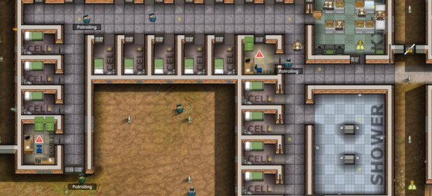 Prison Architect (Strategie) von Introversion Software / Astragon