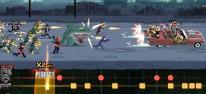 Double Kick Heroes: Rhythmischer Metal-Roadtrip wird für Switch umgesetzt