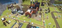 The Colonists: Aufbau-Strategiespiel mit putzigen Robotern à la Siedler für PC gestartet