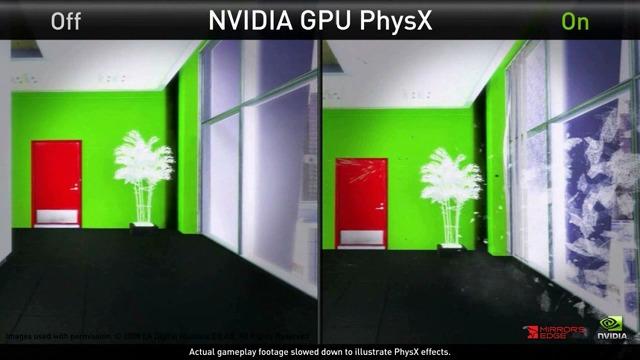 NVIDIA-Physx-Demo
