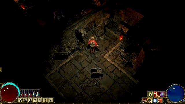 Crypt-Spielszenen