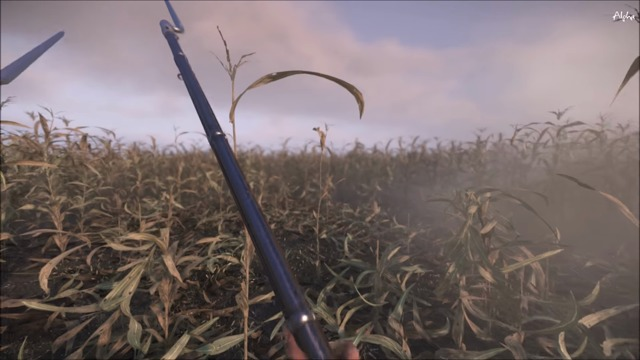 Skirmishing in Miller's Cornfield