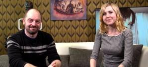 Mathias und Alice besprechen die Simulation im Kontext japanischer Kultur