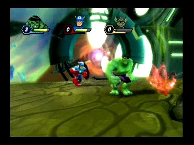 Captain America und Hulk