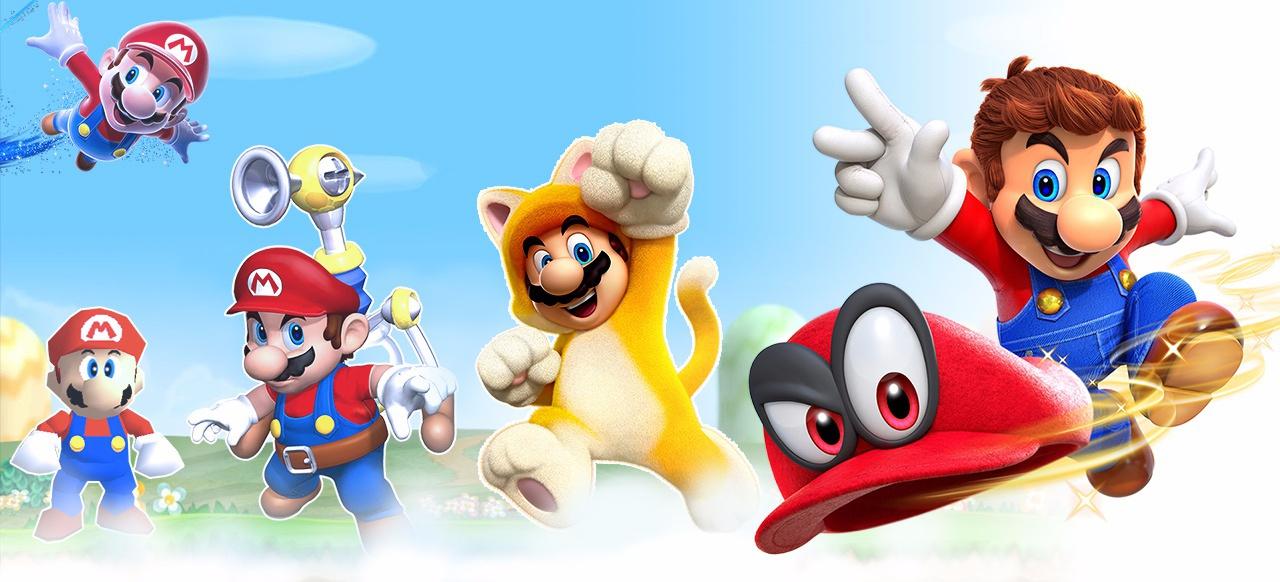 Von Super Mario 64 bis Super Mario Odyssey - wir werfen einen Blick auf die Geschichte der 3D-Marios