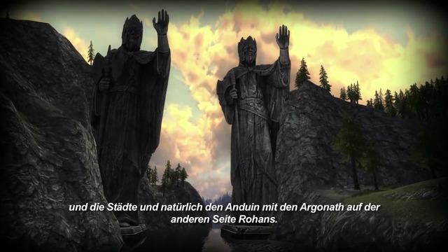 Die Landschaft Rohans