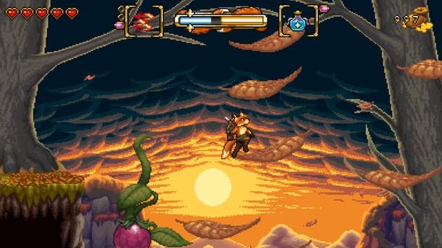 Spielszenen: Gorgeous Gorge (Level 1-2)