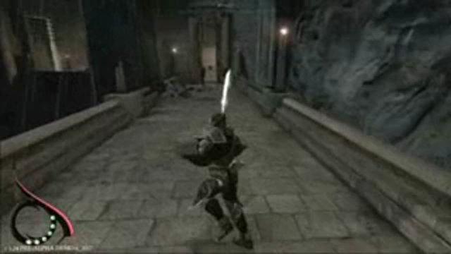 Alpha-Spielszenen der eingestellten Version