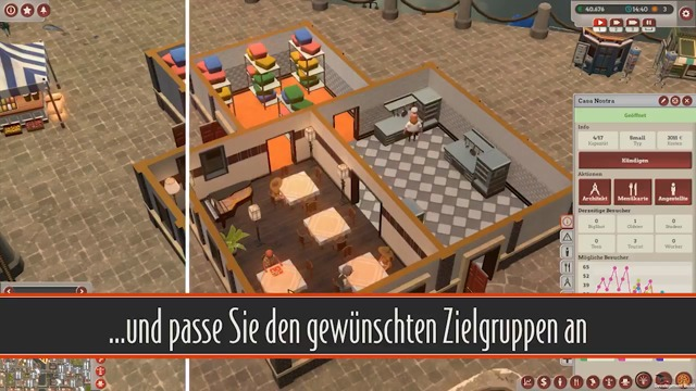 Feature Video 02: Restaurant einrichten