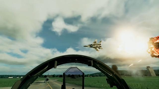 VR-Spielszenen