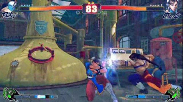 Vega vs. Chun Li
