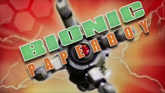 Bionic Paperboy