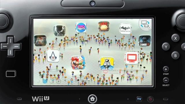 WaraWara-Plaza und Wii U-Chat