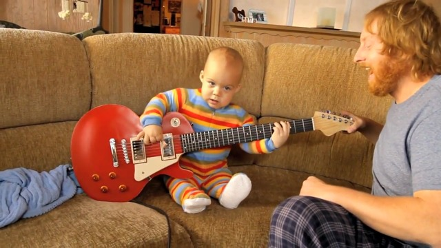 The Guitarbaby-Video