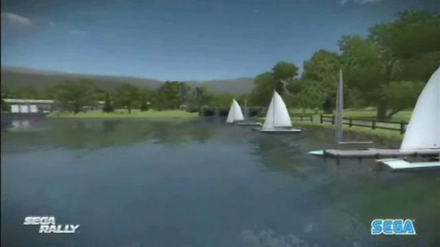 Landschaft mit Seen