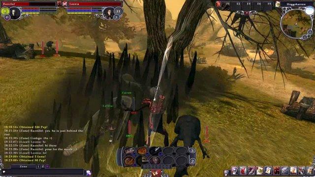 Spielszenen aus der Beta 2