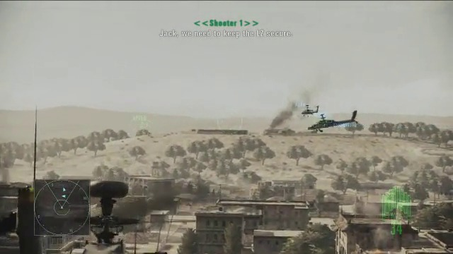 Helicopter Assault-Spielszenen
